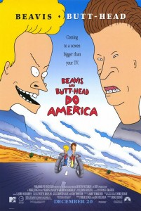 Beavis and Butt-Head Do America [1996] Movie Review Recommendation Poster