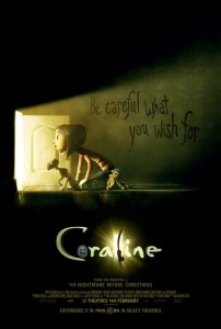 Coraline [2009] Movie Review Recommendation Poster