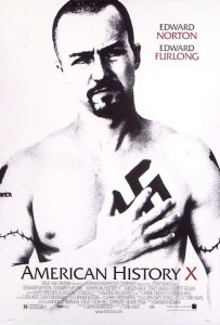 American History X [1998] Movie Review Recommendation Poster