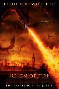 Reign of Fire [2002] Movie Review Recommendation Poster