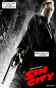 Sin City [2005] Movie Review Recommendation Poster