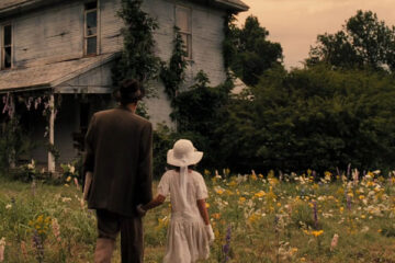The Gray Man 2007 Movie Patrick Bauchau as Albert Fish taking Lexi Ainsworth as Grace Budd to an old house