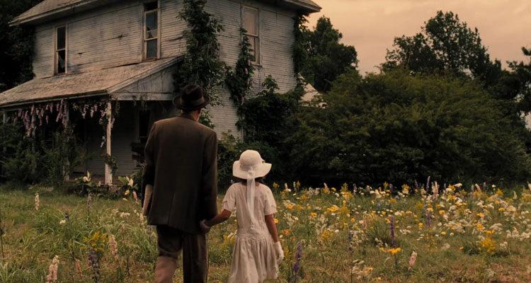 The Gray Man 2007 Movie Patrick Bauchau as Albert Fish taking Lexi Ainsworth as Grace Budd to an old house
