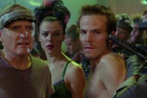 Space Truckers 1996 Movie Stephen Dorff, Debi Mazar and Dennis Hopper,