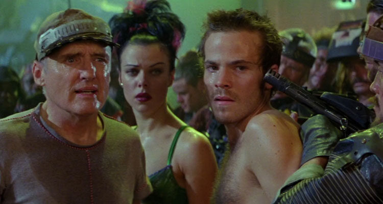 Space Truckers 1996 Movie Stephen Dorff, Debi Mazar and Dennis Hopper,