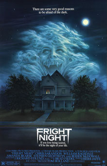 Fright Night 1985 Poster Movie Review Recommendation