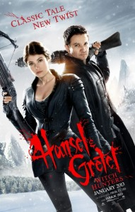 Hansel & Gretel - Witch Hunters Poster