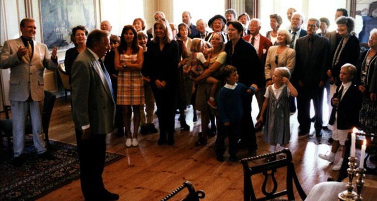 Festen [1998] Movie Family gathered inside the house