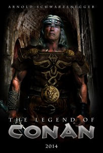 The Legend Of Conan Poster