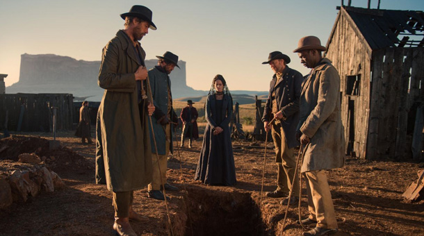 The Salvation [2014] Movie Eva Green burial scene