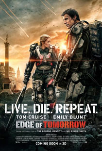 Edge of Tomorrow [2014] Movie Review Recommendation Poster