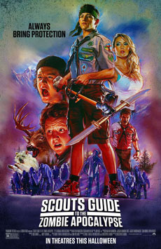 Scout's Guide to the Zombie Apocalypse [2015] Movie Poster