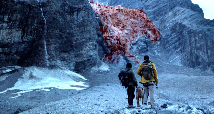 Blood Glacier Blutgletscher 2013 Movie Researchers looking at the giant red glacier for the first time