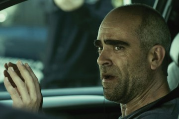 El Desconocido Aka Retribution [2015] Movie Luis Tosar as Carlos in the car facing the police scene