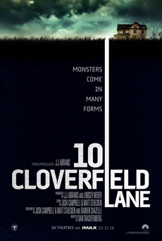 10 Cloverfield Lane [2016] movie poster
