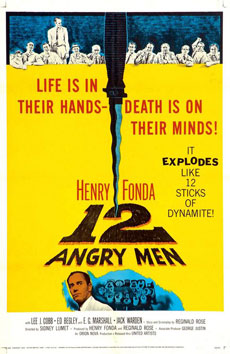 12 Angry Men Poster Review Recommendation Poster