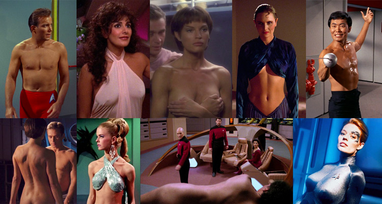 Star Trek Series Nudity