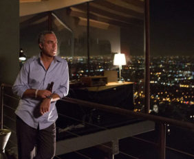 Harry Bosch House location Blue Heights Drive in Hollywood Hills West