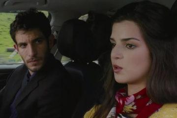 La Cara Oculta 2011 Adrian and Belen in a car driving