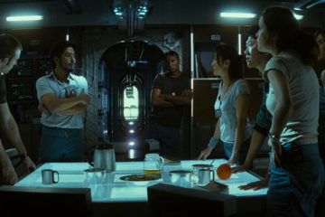 Sunshine 2007 Movie, the crew of spaceship Icarus II