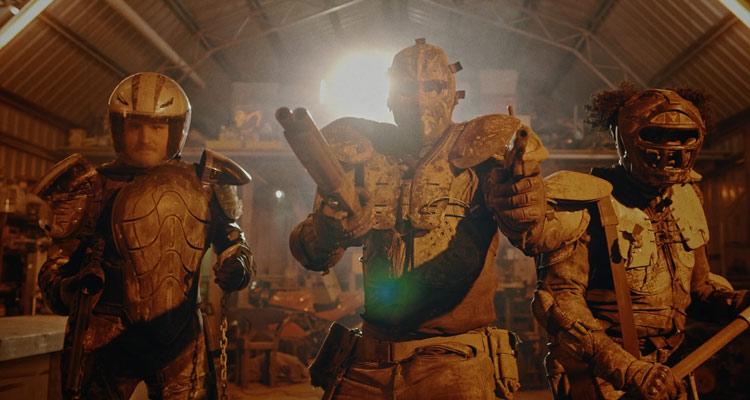 Wyrmwood 2014 Movie Getting ready to fight zombies