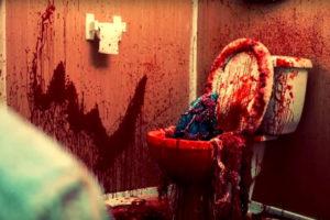 House Shark Movie - Shark fin in the toilet