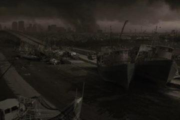 The Road 2009 Post Apocalyptic Wasteland Wideshot