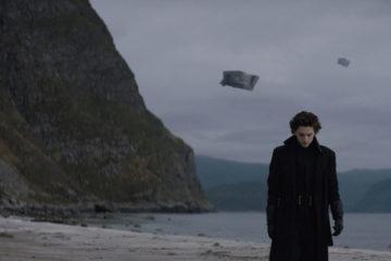Dune 2020 Timothée Chalamet as Paul Atreides on his native planet of Caladan