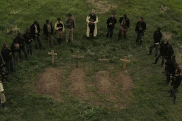 The Burrowers 2008 Burial scene