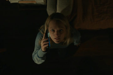 The Invisible Man 2020 Movie Elisabeth Moss as Cecilia Kass afraid
