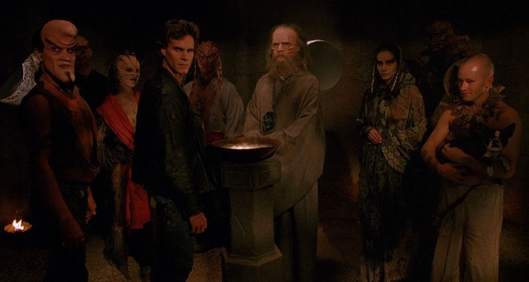 Nightbreed 1990 Movie Craig Sheffer, Doug Bradley and rest of the gang looking at you