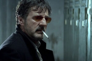 MR 73 AKA The Last Deadly Mission 2008 Movie Daniel Auteuil as Louis Schneider smoking a cigarette