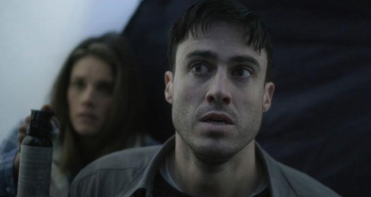 Backcountry 2014 Movie Jeff Roop as Alex and Missy Peregrym as Jenn
