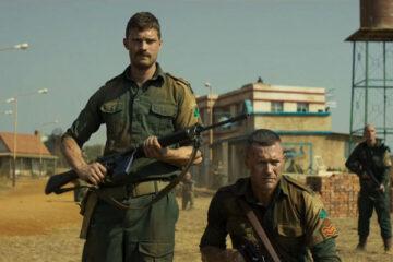 The Siege of Jadotville 2016 Movie Jamie Dornan as Patrick Quinlan and Jason O'Mara as Jack Prendergast