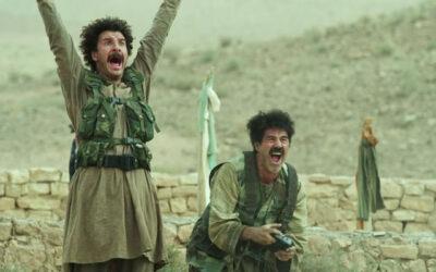 Vive La France 2013 Movie Michaël Youn as Ferouz and José Garcia as Muzafar laughing