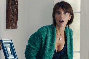 Wave of Crimes 2018 Ola De Crimenes Movie Scene Maribel Verdu as Leyre Blanco in a revealing dress