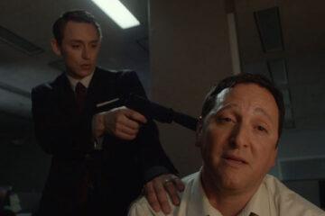 Not Safe For Work 2014 Movie Scene JJ Feild and Tom Gallop