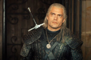 New Highlander Reboot A scene from The Witcher television show with Henry Cavill