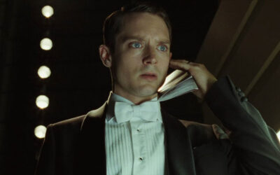 Grand Piano 2013 Movie Scene Elijah Wood as Tom Selznick about to go on stage